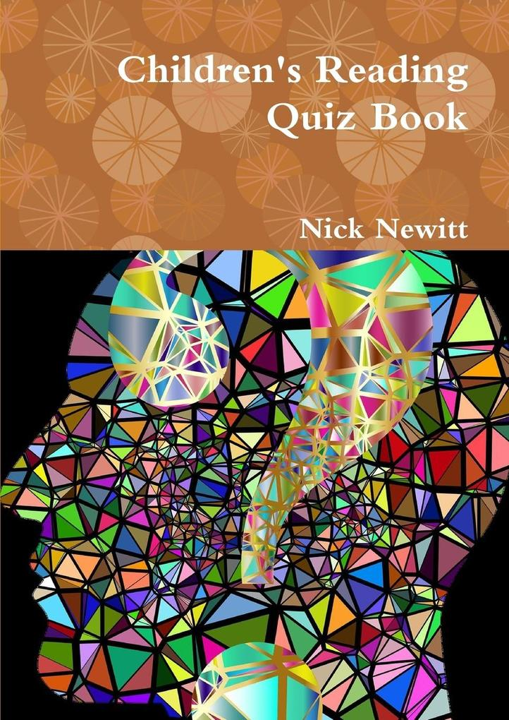 Children's Reading Quiz Book als Taschenbuch