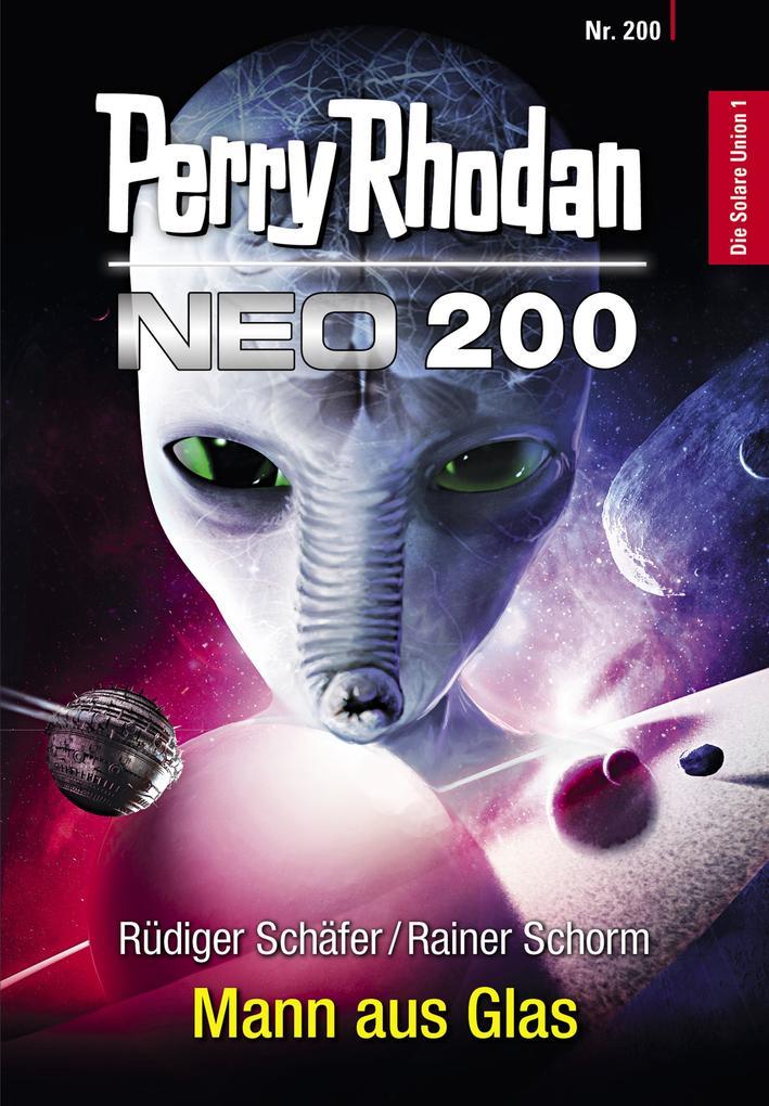 Perry Rhodan Neo 200: Mann aus Glas als eBook epub