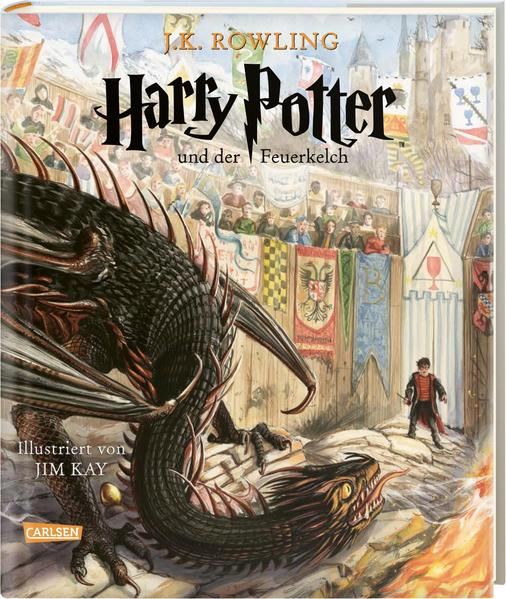 Harry Potter und der Feuerkelch (farbig illustrierte Schmuckausgabe) (Harry Potter 4) als Buch