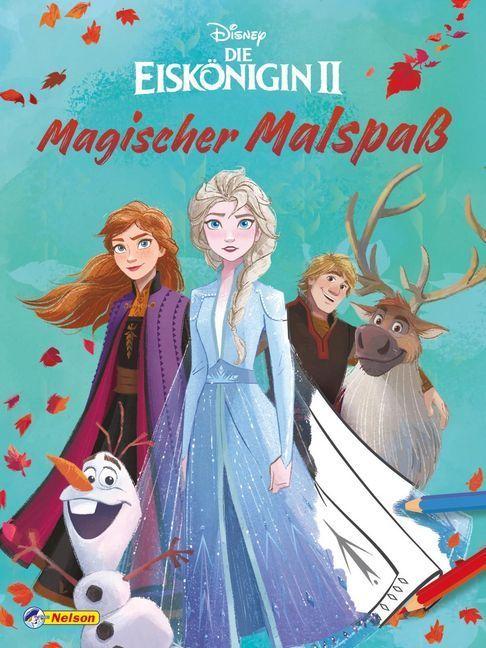 Disney Die Eiskönigin 2: Magischer Malspaß als Buch (kartoniert)