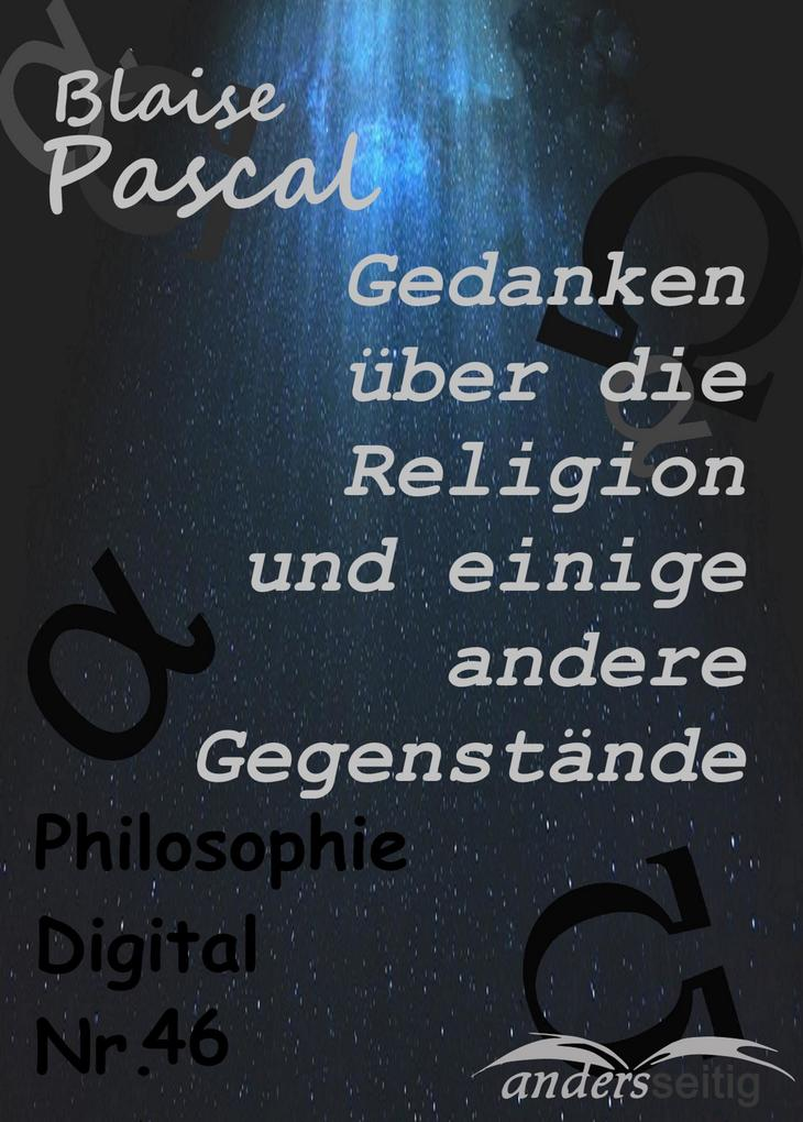Gedanken über die Religion und einige andere Gegenstände als eBook epub