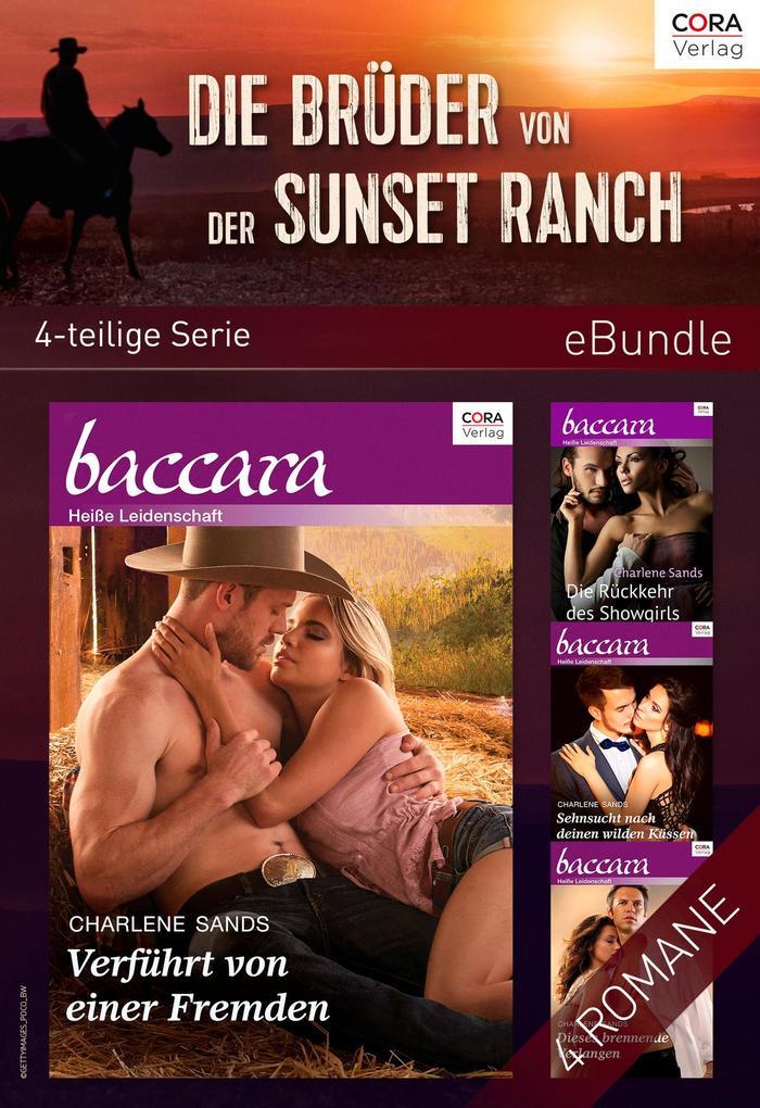 Die Brüder von der Sunset Ranch (4-teilige Serie) als eBook