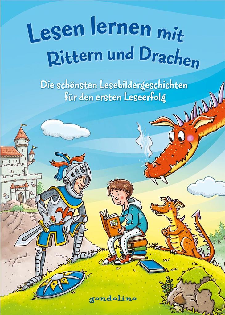 Lesen lernen mit Rittern und Drachen als Buch (gebunden)