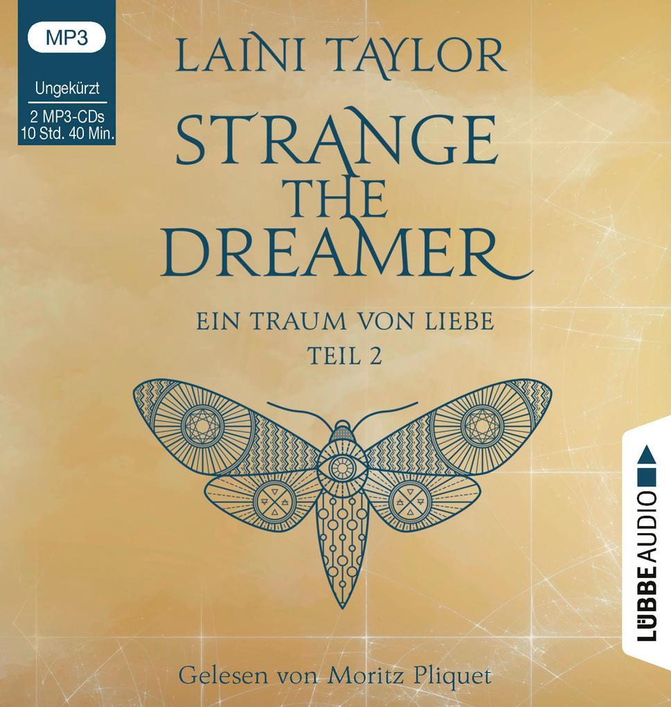Strange the Dreamer - Ein Traum von Liebe als Hörbuch CD