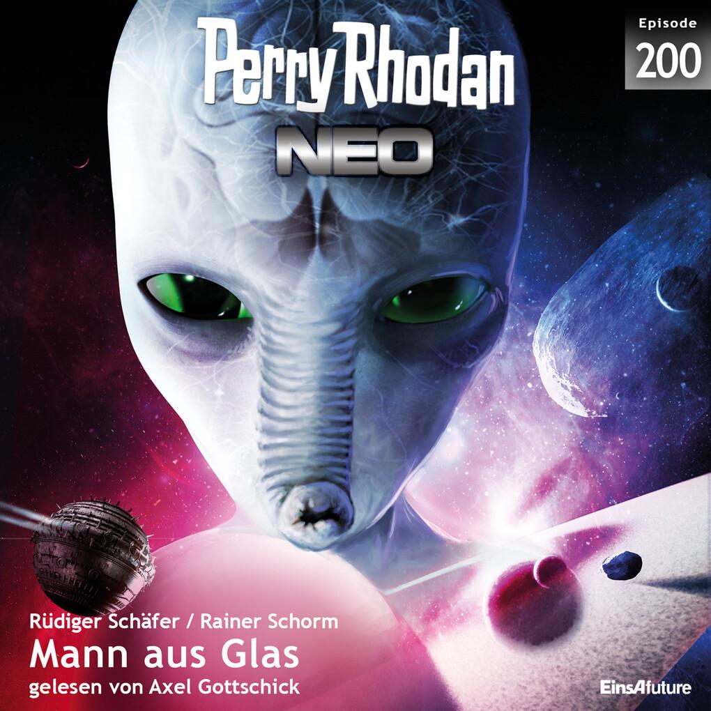 Perry Rhodan Neo 200: Mann aus Glas als Hörbuch Download