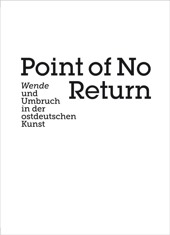 Point of no Return als Buch (kartoniert)