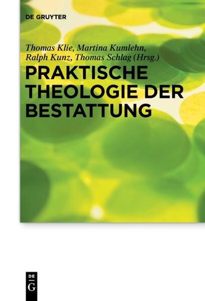 Praktische Theologie der Bestattung als Buch (kartoniert)