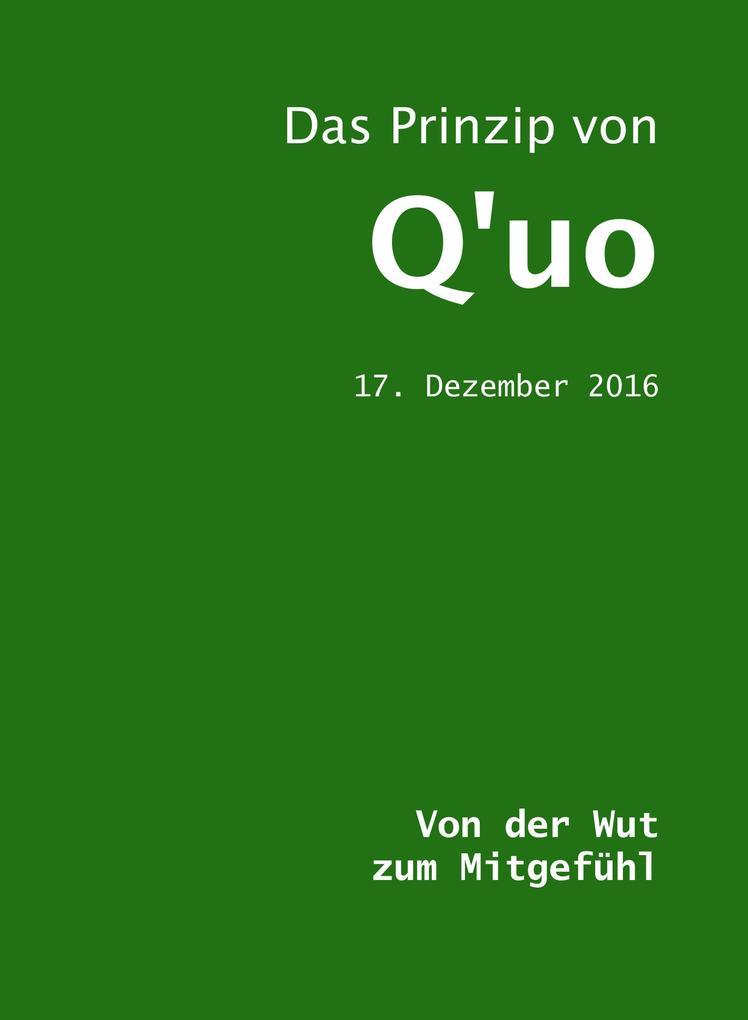 Das Prinzip von Q'uo (17. Dezember 2016) als eBook epub