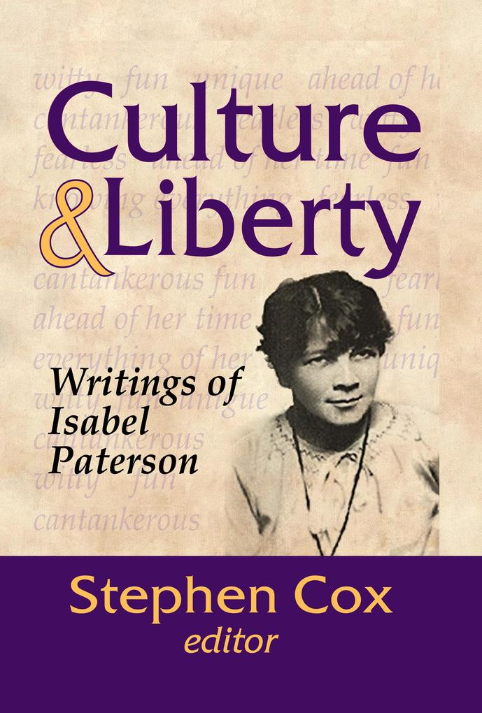 Culture and Liberty als eBook epub