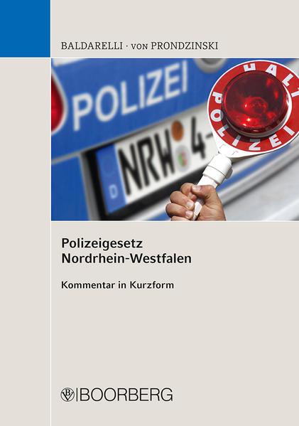 Polizeigesetz Nordrhein-Westfalen als Buch (kartoniert)