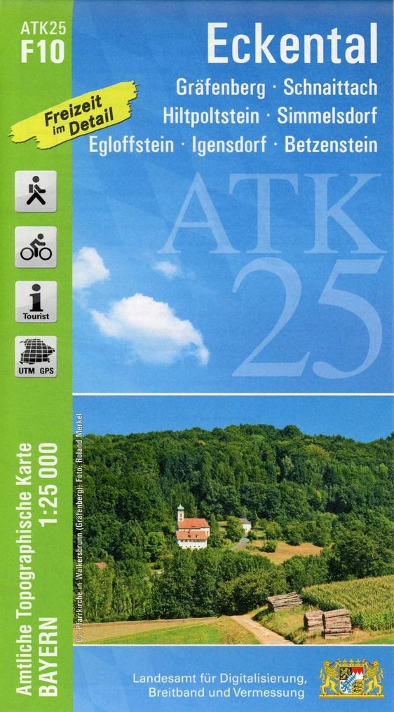 Eckental 1 : 25 000 als Buch (kartoniert)