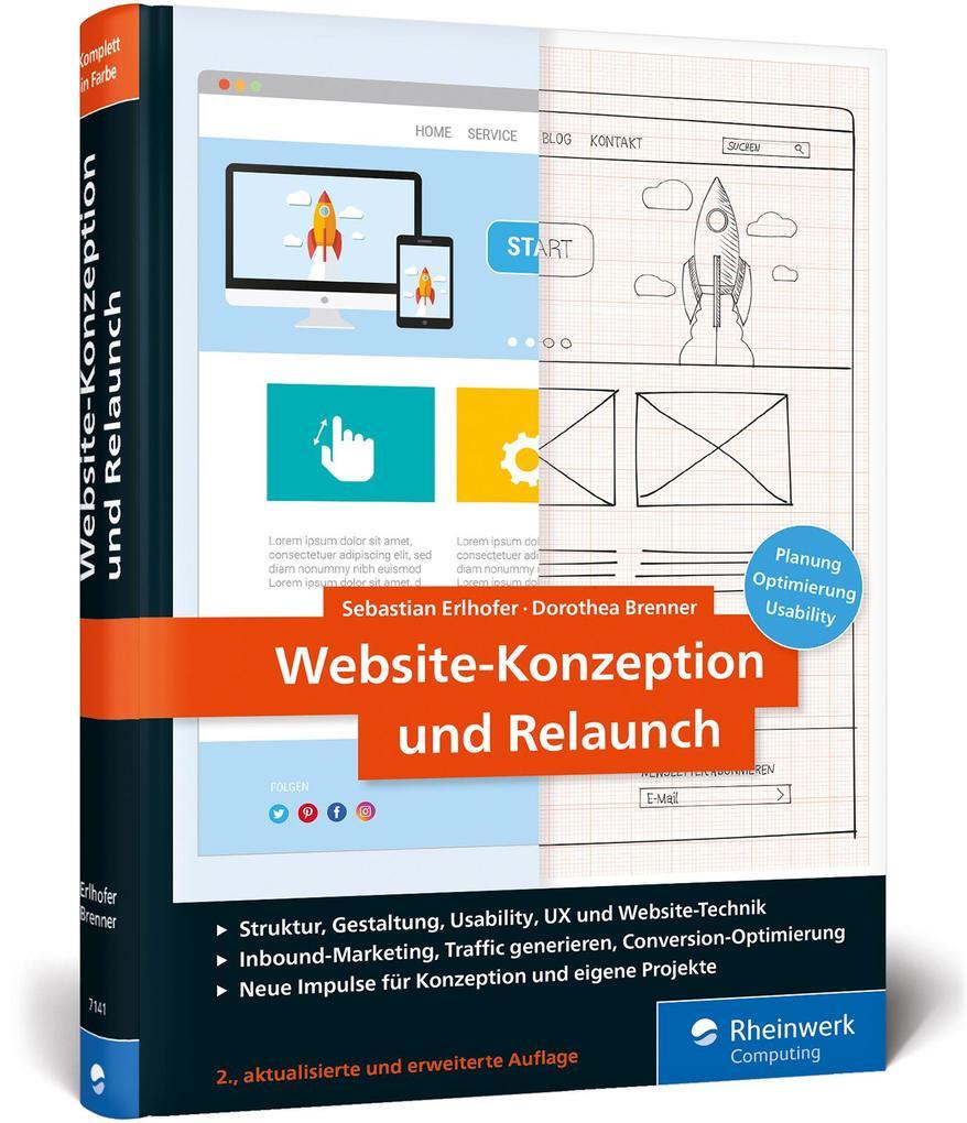 Website-Konzeption und Relaunch als Buch (gebunden)