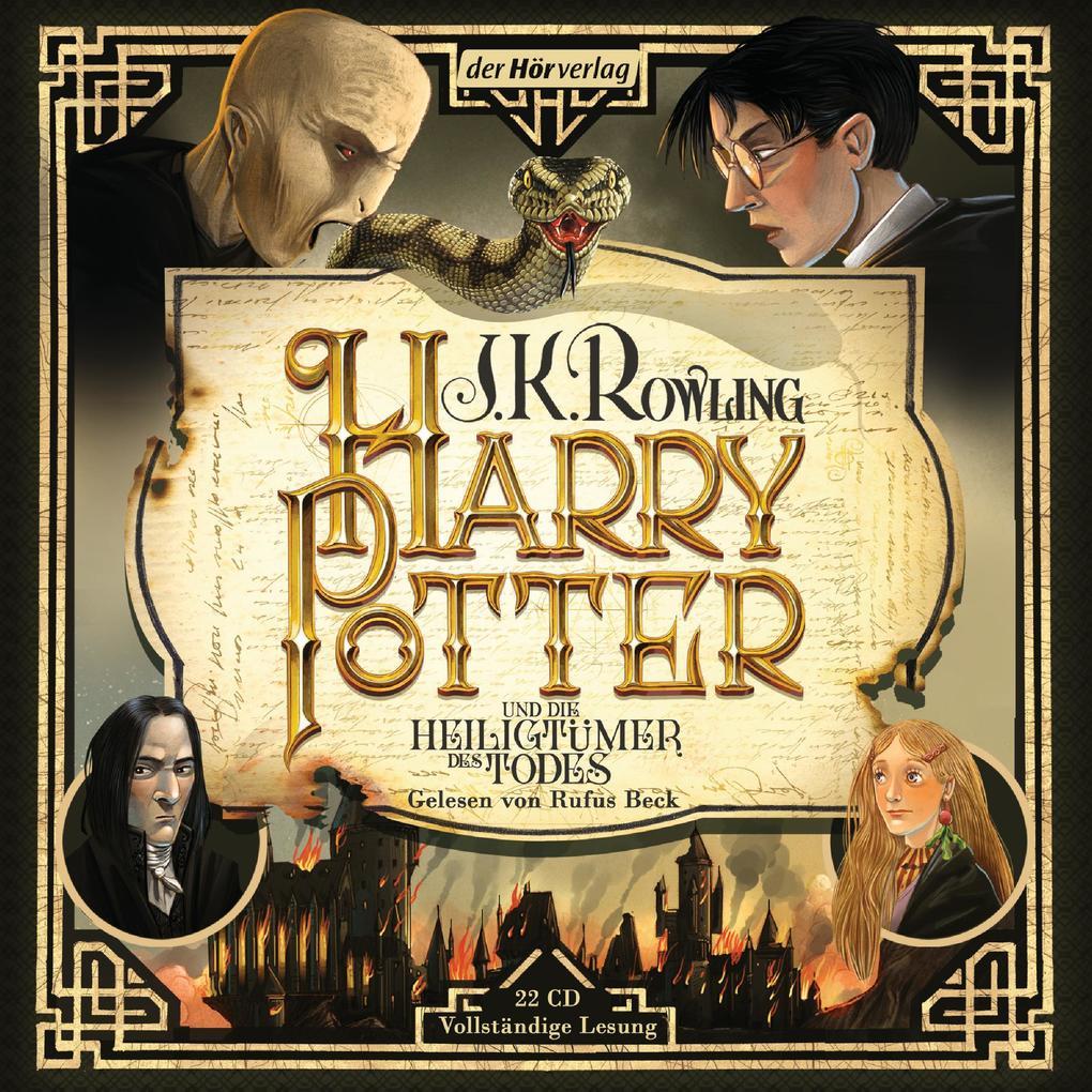 Harry Potter und die Heiligtümer des Todes als Hörbuch CD