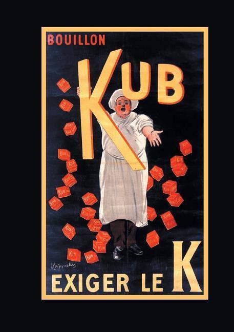 Carnet Blanc, Affiche Bouillon Kub als Taschenbuch