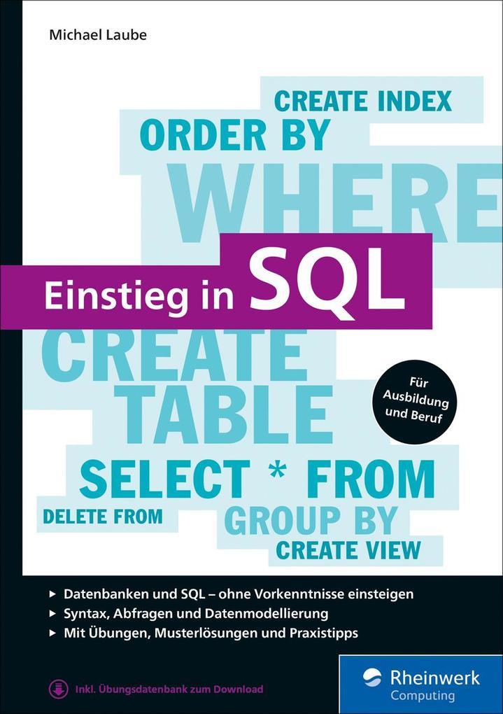 Einstieg in SQL als eBook epub
