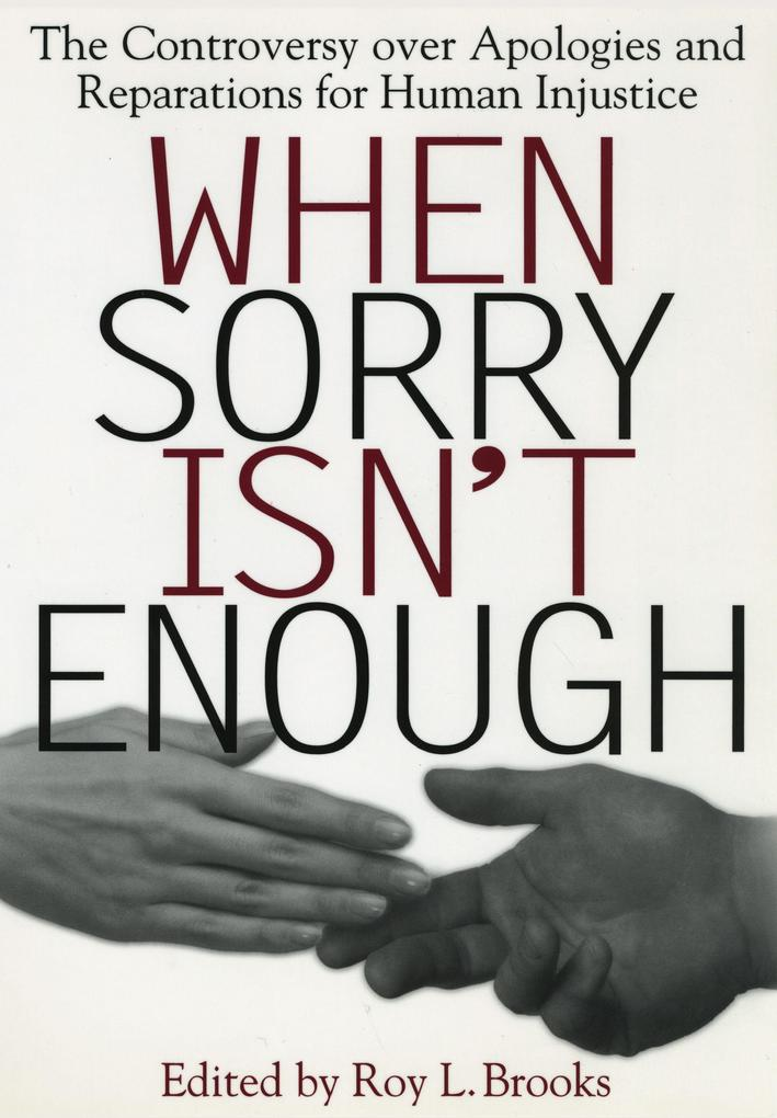 When Sorry Isn't Enough als Taschenbuch