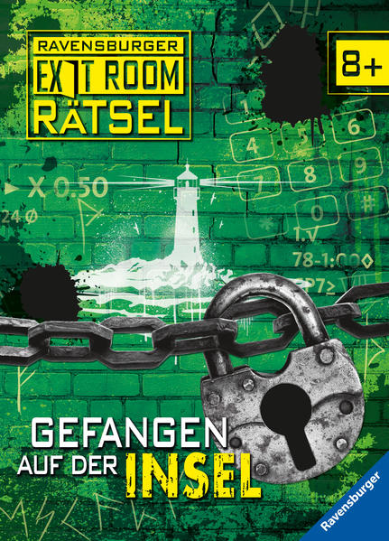 Ravensburger Exit Room Rätsel: Gefangen auf der Insel als Buch (gebunden)