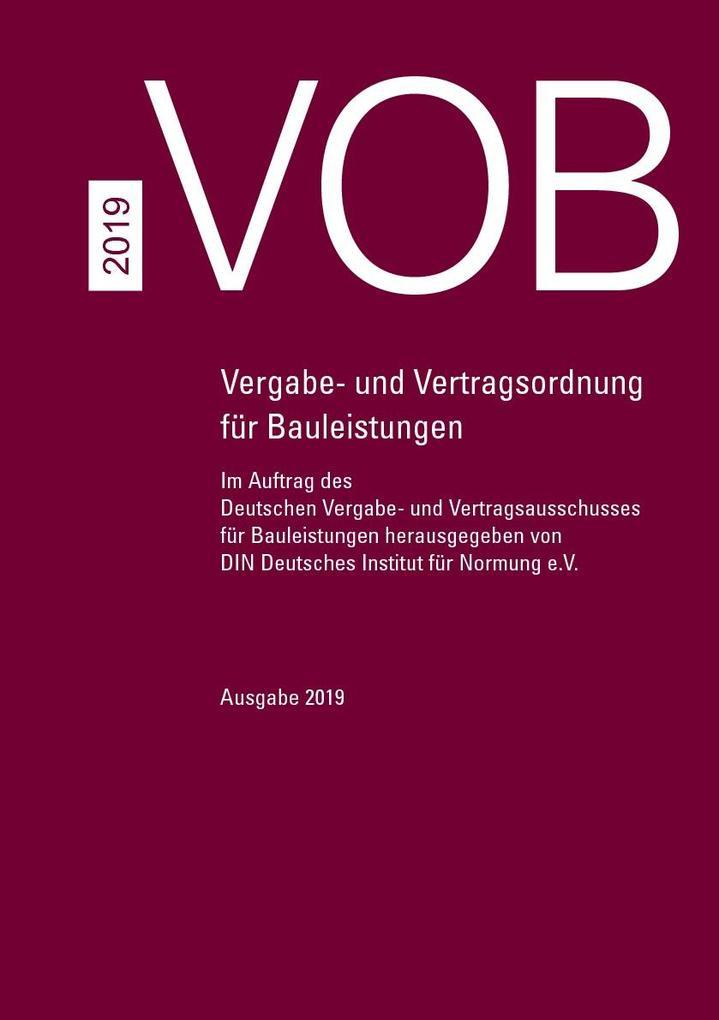 VOB Gesamtausgabe 2019 als eBook pdf