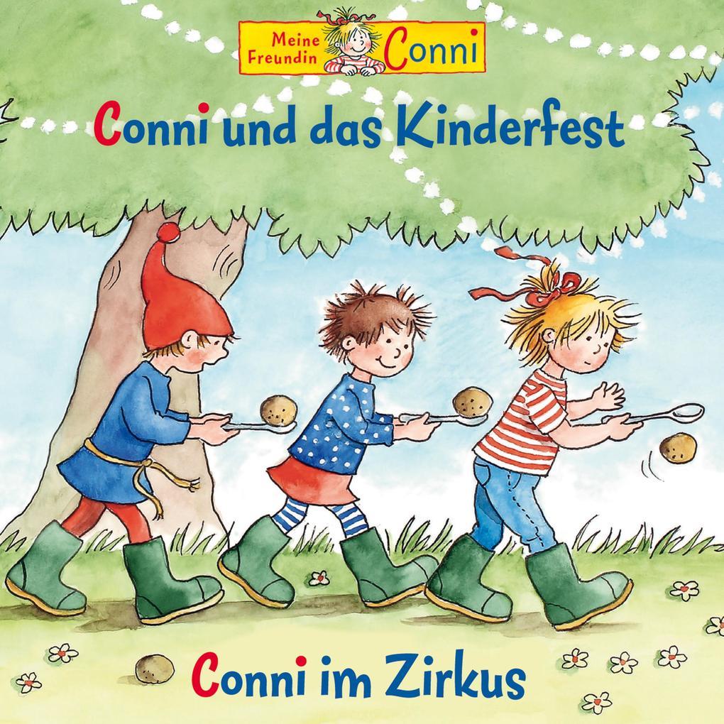 Conni und das Kinderfest / Conni im Zirkus als Hörbuch Download