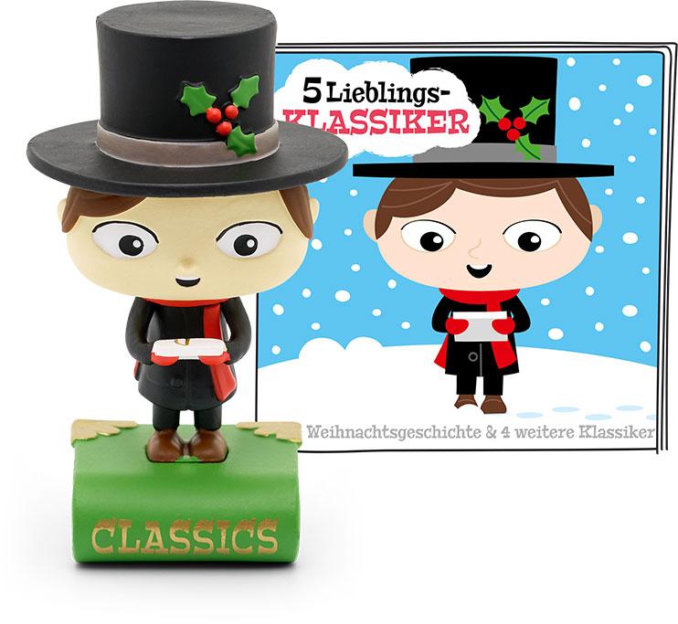 Tonie - 5 Lieblings-Klassiker: Eine Weihnachtsgeschichte und vier weitere Klassiker als Spielware