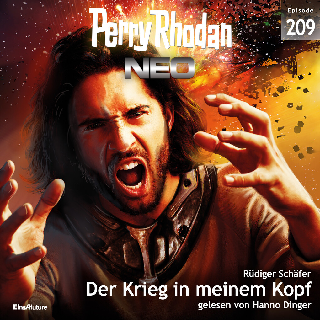 Perry Rhodan Neo 209: Der Krieg in meinem Kopf als Hörbuch Download
