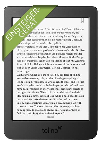 tolino page 2 als Hardware