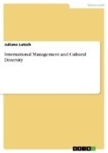 International Management and Cultural Diversity als Buch (kartoniert)