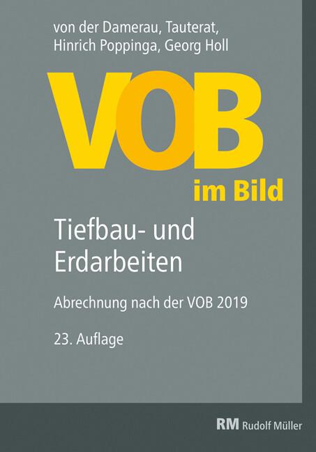 VOB im Bild - Tiefbau- und Erdarbeiten als Buch (gebunden)