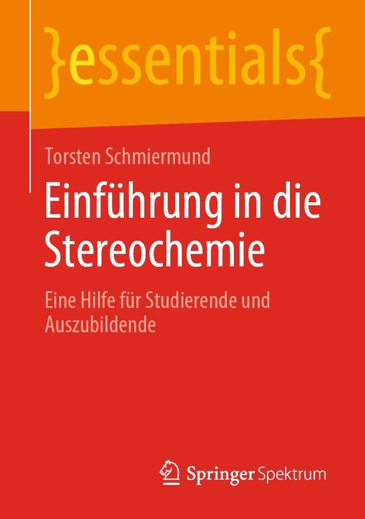 Einführung in die Stereochemie als eBook pdf
