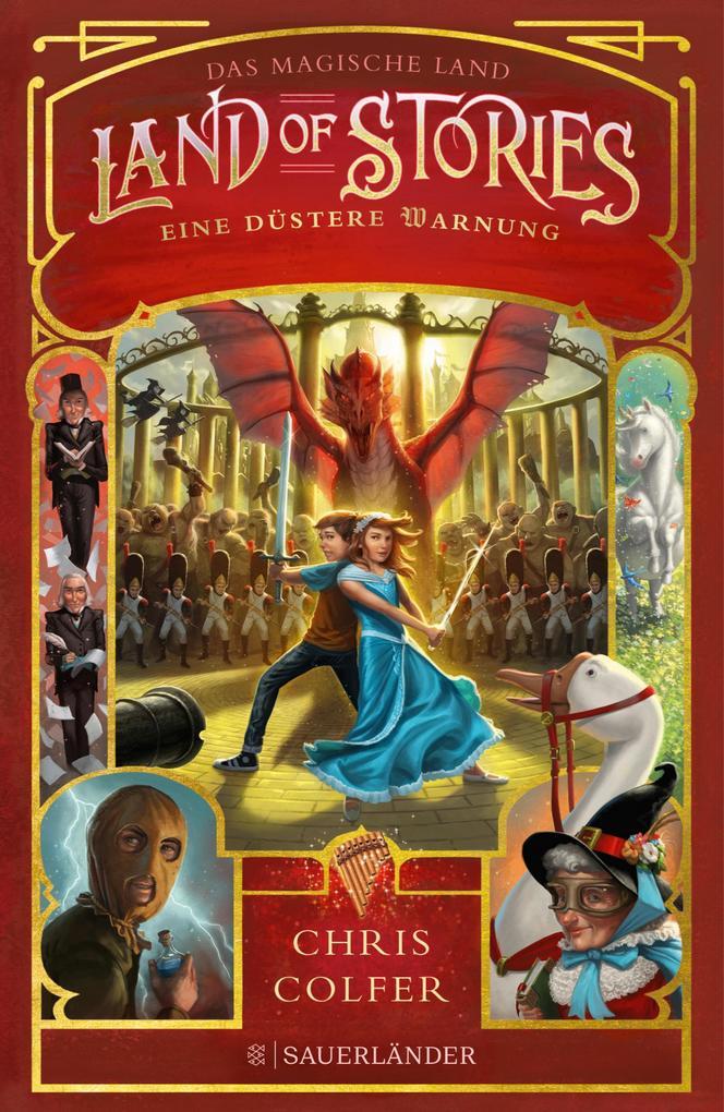Land of Stories: Das magische Land 3 - Eine düstere Warnung als eBook epub