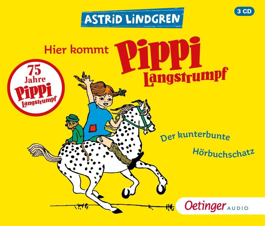 Hier kommt Pippi Langstrumpf! als Hörbuch CD
