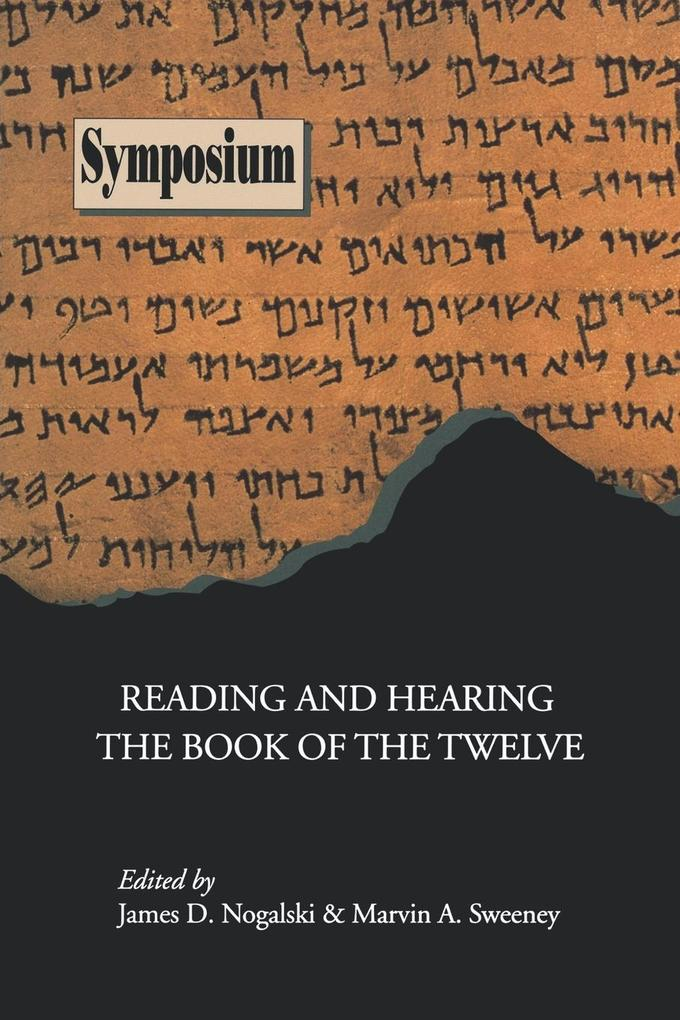 Reading and Hearing the Book of the Twelve als Taschenbuch