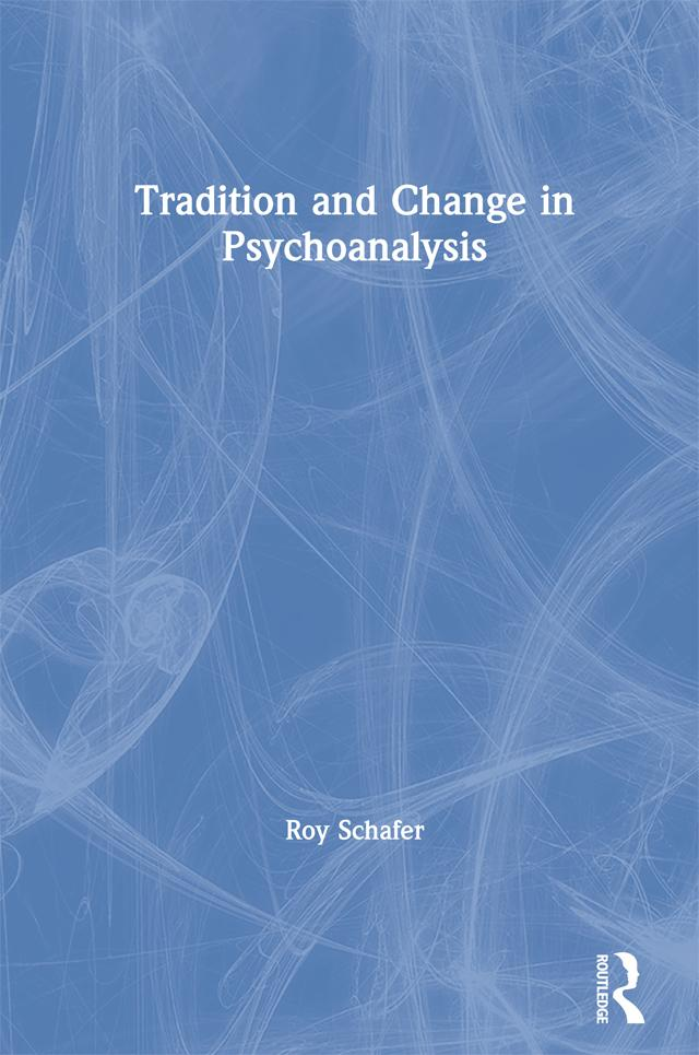 Tradition and Change in Psychoanalysis als eBook epub