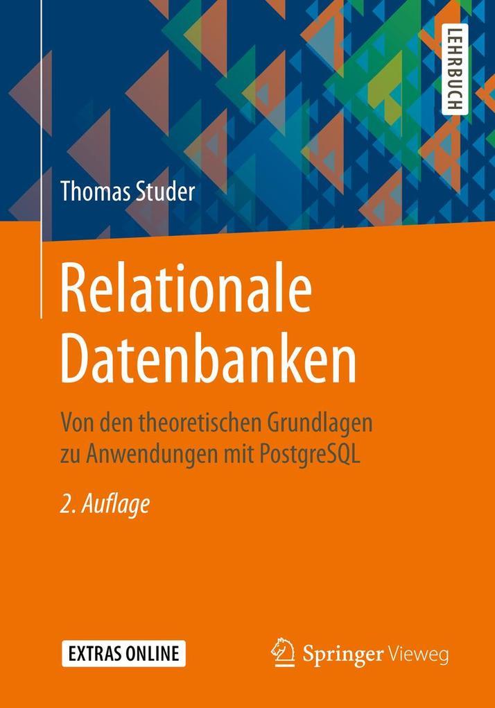 Relationale Datenbanken als eBook pdf