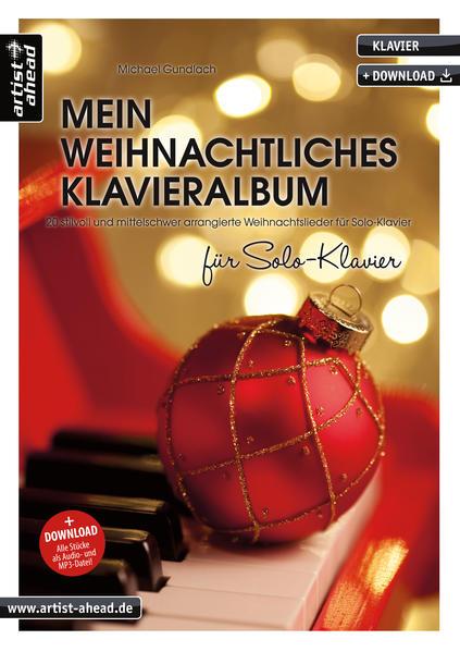 Mein weihnachtliches Klavieralbum für Solo-Klavier als Buch (kartoniert)