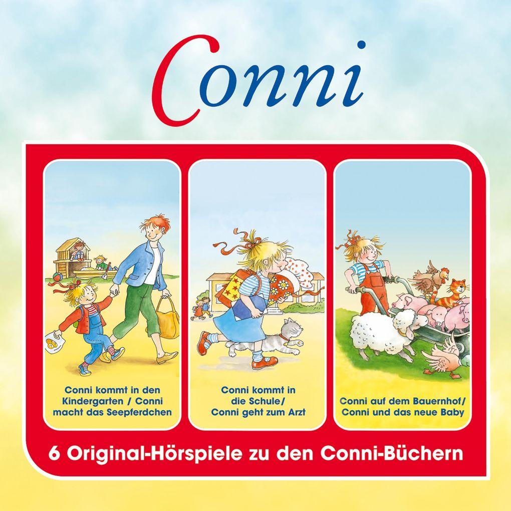 Conni - Hörspielbox, Vol. 1 als Hörbuch Download