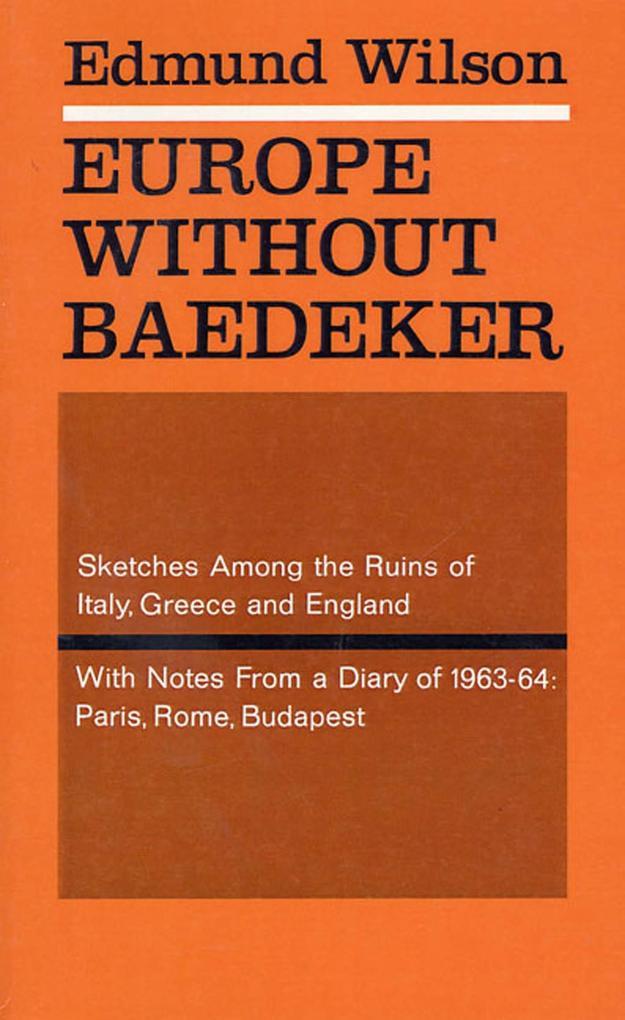 Europe Without Baedeker als eBook epub