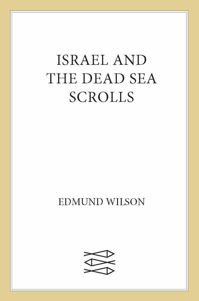 Israel and the Dead Sea Scrolls als eBook epub