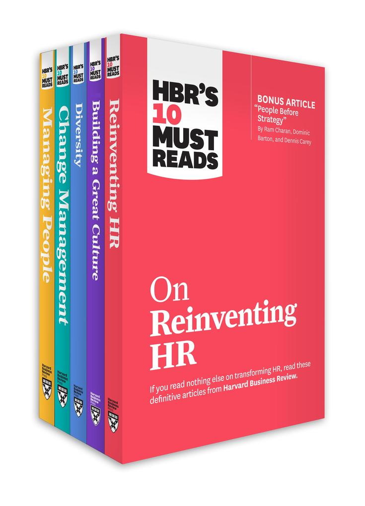 HBR's 10 Must Reads for HR Leaders Collection (5 Books) als eBook epub