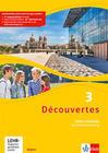 Découvertes 3. Ausgabe Bayern. Cahier d'activités mit MP3-CD und Video-DVD 3. Lernjahr