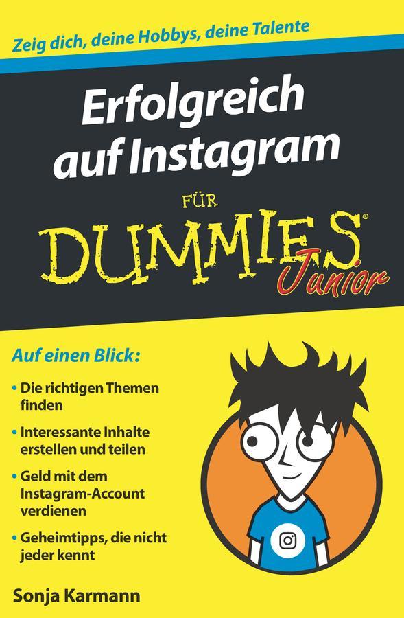 Erfolgreich auf Instagram für Dummies Junior als eBook epub