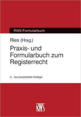 Praxis- und Formularbuch zum Registerrecht als eBook epub
