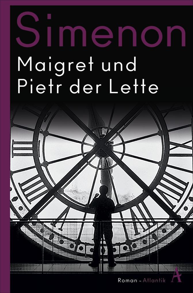 Maigret und Pietr der Lette als Taschenbuch