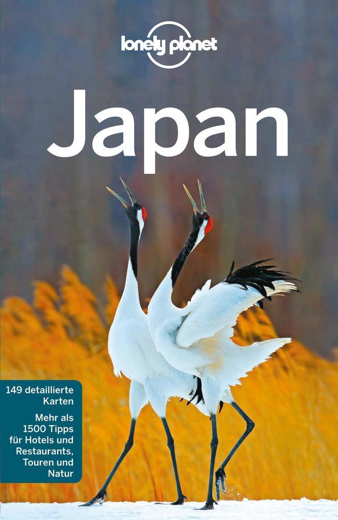 Lonely Planet Reiseführer Japan als eBook epub