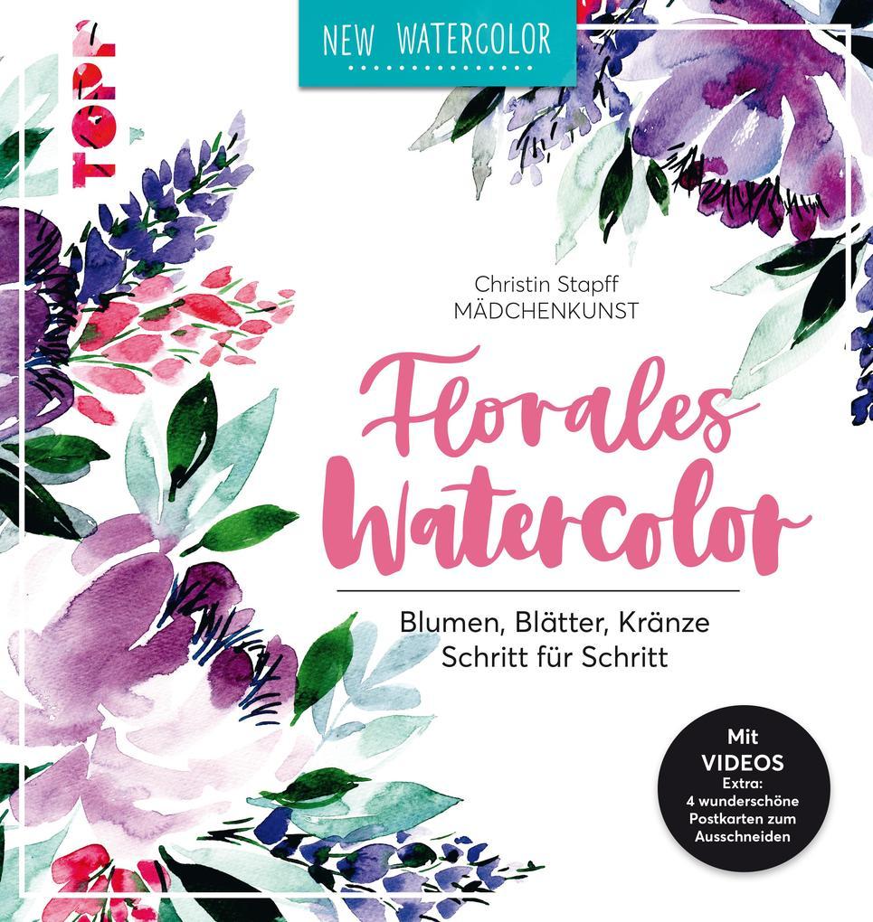 Florales Watercolor als eBook epub