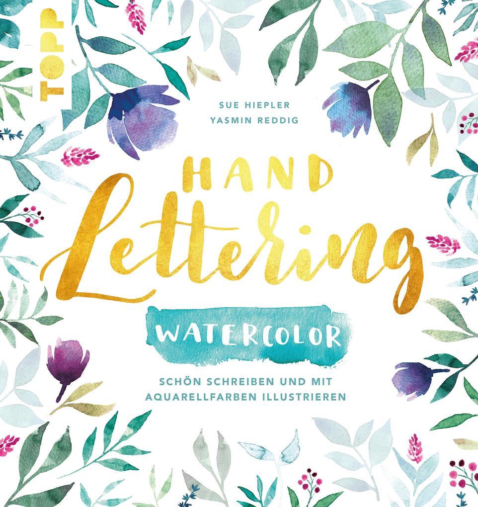 Handlettering Watercolor als eBook epub