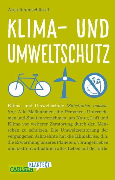 Carlsen Klartext: Klima- und Umweltschutz als Taschenbuch