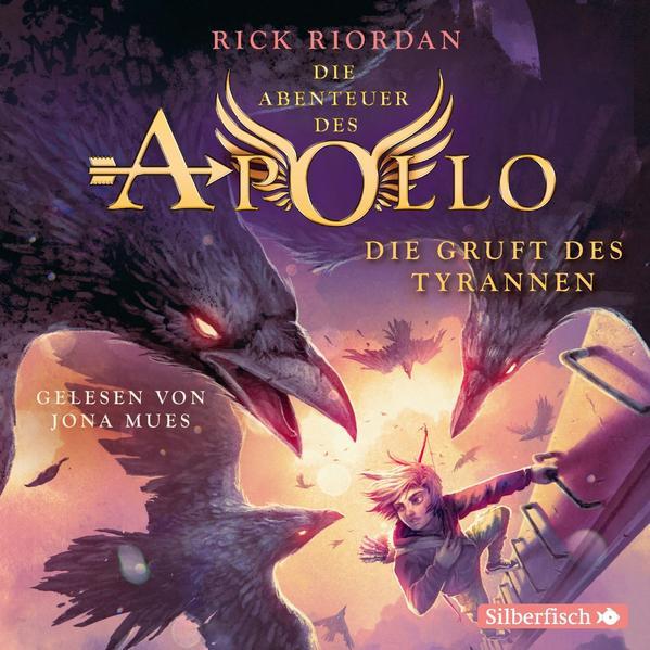 Die Abenteuer des Apollo 4: Die Gruft des Tyrannen als Hörbuch CD