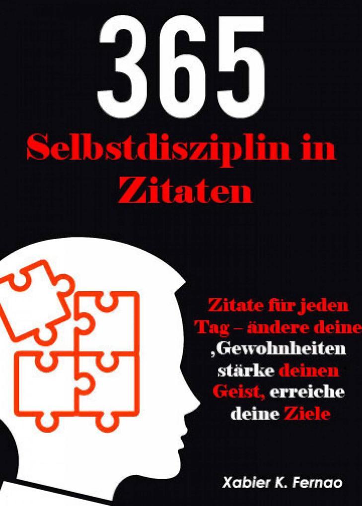 Selbstdisziplin in 365 Zitaten als eBook epub