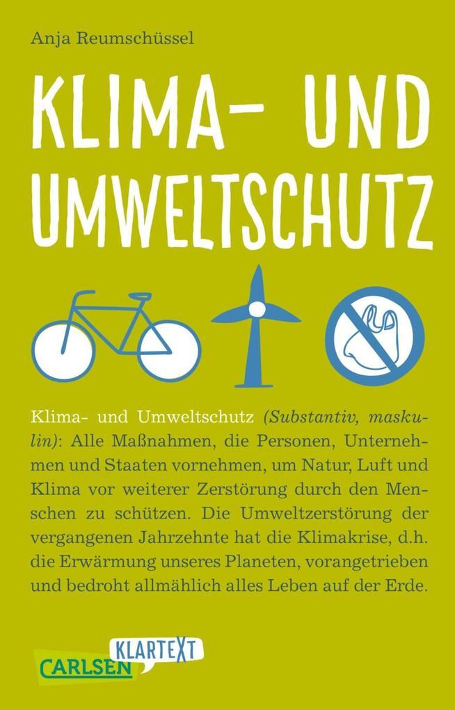 Carlsen Klartext: Klima- und Umweltschutz als eBook epub